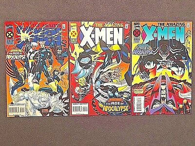 The Amazing X-Men #1-3 (1995) 1 2 3 Marvel Comics Age Of Apocalypse