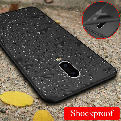 Slim Soft TPU Case For OnePlus 6T 6 5T 5 Matte Silicone Rubber Shockproof Cover