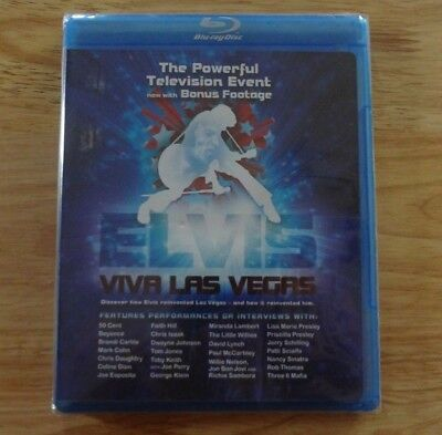 New Sealed Elvis Viva Las Vegas Blu-Ray! TV Event Various Artists