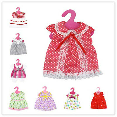 Cute Baby Born Princess Lace Dress Doll Clothes Fit 43cm 18inch Doll Accessories