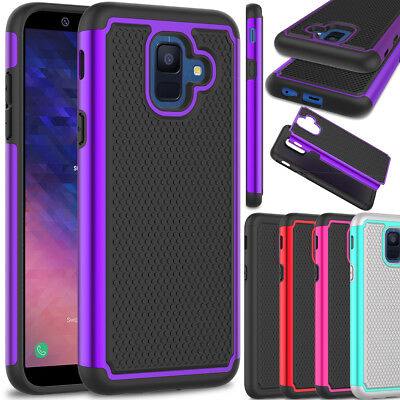 For Samsung Galaxy A6 (2018) Case Shockproof Hybrid Rugged Hard Slim Phone Cover