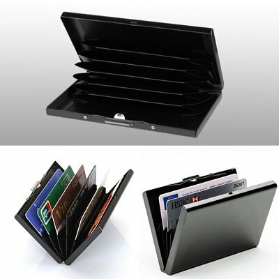 Luxury Metal Card Holder Stainless Steel Business Card Credit ID RFID Case Card