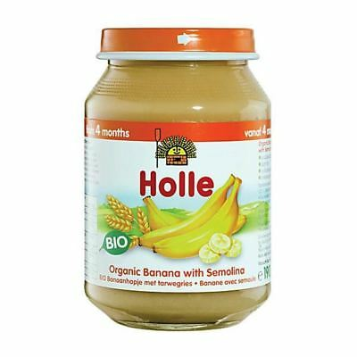 Holle Organic Banana With Semolina 190g