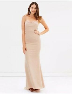 Love Honor Dena Gown Nude size 10