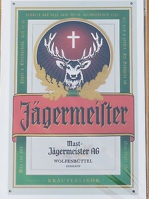 Jagermeister Liquor Vintage/Retro Style Tin Sign US Seller Fast shipping