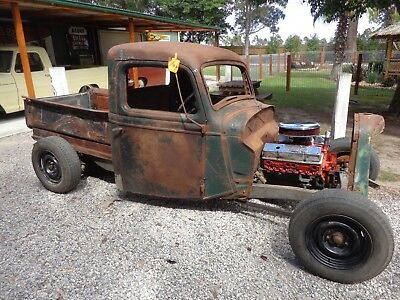 Ford 1936 Pickup Chanelled On 34 Chassis Suit Hot Rod Rat Truck F100 Drag