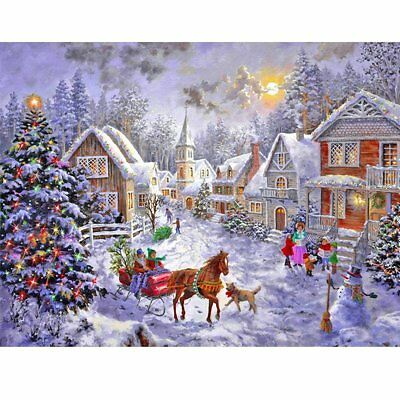 Full Drill DIY 5D Diamond Painting Christmas Home Decor Embroidery Handicraft