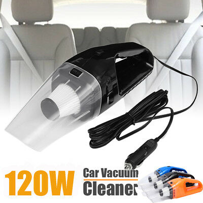 Car Vacuum Cleaner Wet&Dry Combo Car Auto 120W Super Suction Car Vacuum Cleaners