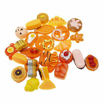 1 Pack Resin Candy Cookie Cake Sweets Cabochons Many Kinds DIY Crafts Decor