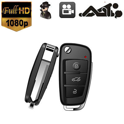 US HD 1080P Car Key Chain Spy Hidden DVR Camera Motion Detect IR Night Vision