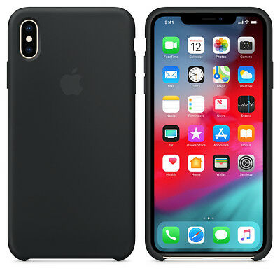 BLACK GENUINE OFFICIAL ORIGINAL Apple Silicon Case iPhone XR SEALED RRP $39