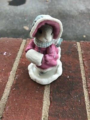 Enesco My Blushing Bunnies Priscilla Hillman The Holidays Join Us Together
