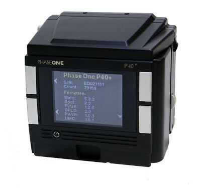 Phase One P40+ Kit 40MP Digital Back Hasselblad V Fitting *Much Reduced Price *