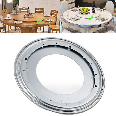 Aluminium Rotating Lazy Susan Bearing Turntable Round Swivel Plate Kitchen Tool