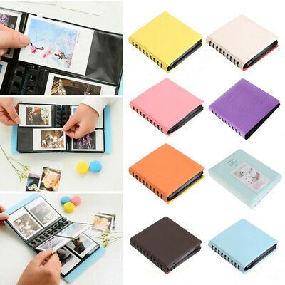 68 Pocket Photo Album Storage FujiFilm Instax Mini Polaroid Fuji Film Camera New