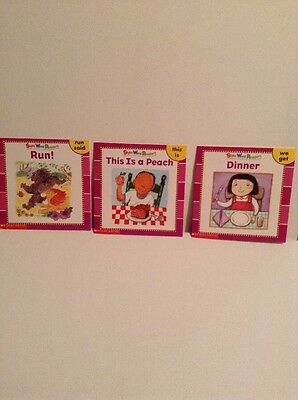 Scholastic Sight Word Readers (Lot Of 3 Books) Copyright 2003 Learn Children Kid