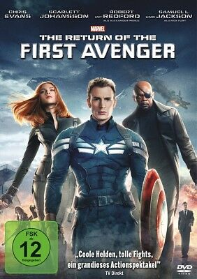 Anthony Russo - The Return of the First Avenger, 1 DVD