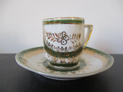 Circa 1915 Souvenir Porcelain Cup and Saucer Nantasket Beach Massachusetts