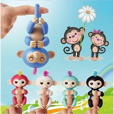 2018 Fingerlings Unicorn Gigi Fingerling Interactive Baby Children Kids Toy