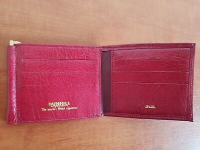 Vintage DUNHILL Calf Leather Wallet Made in England