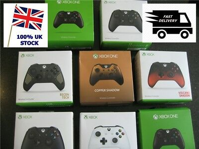 Official BOXED Microsoft Xbox One Wireless Controllers