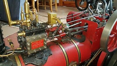 "live steam traction engine Samson Savage 3"" scale model"