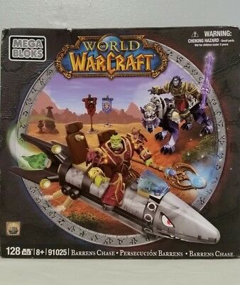 MEGA BLOKS World of WARCRAFT BARRENS CHASE 91025