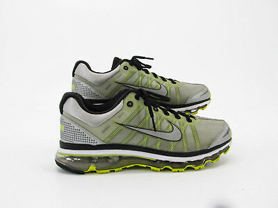 NIKE AIR MAX Plus Men Silver Athletic Running Shoes Size 9M