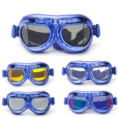Hot Retro Steampunk Eyewear Goggles Welding Goth Cosplay Vintage Glasses Gifts