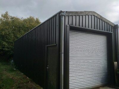 Industrial Pre-Fabricated Steel Framed Building Farm Store Agricultural
