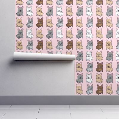 Wallpaper Roll Frenchie French Bulldog Frenchy Dog Puppy Cute 24in x 27ft