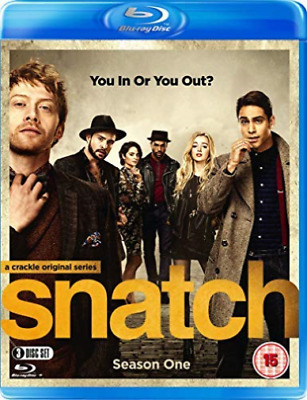 Snatch Season 1 (UK IMPORT) BLU-RAY NEW