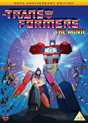Transformers The Movie 30Th Anniversary (UK IMPORT) DVD NEW