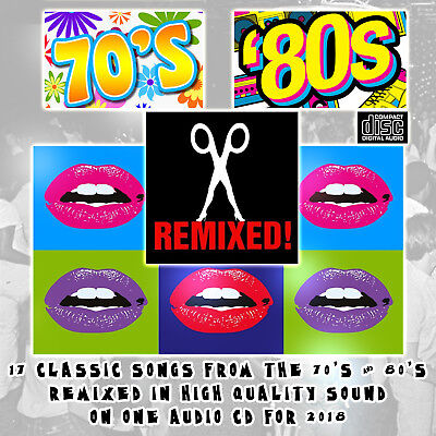 The 70's & 80's Remixed 2018 MIXED CD DJ High Quality Songs NEW BOOTLEG EDIT's