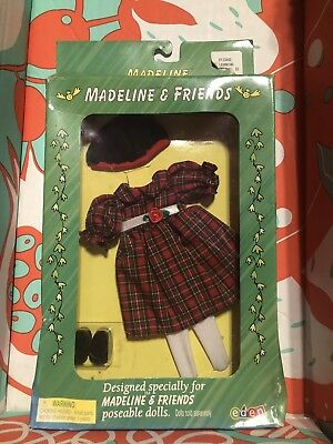 Madeline And Friends Poseable Doll Holiday Best Oitfit NIB New