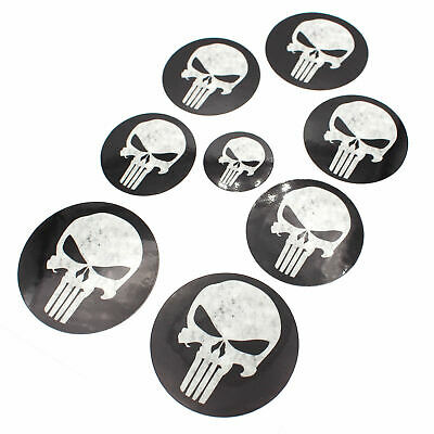Skull Logo Emblem Foils Set for BMW F32 F33 F36 F25 E84 E70 E71 M PACKAGE Corner