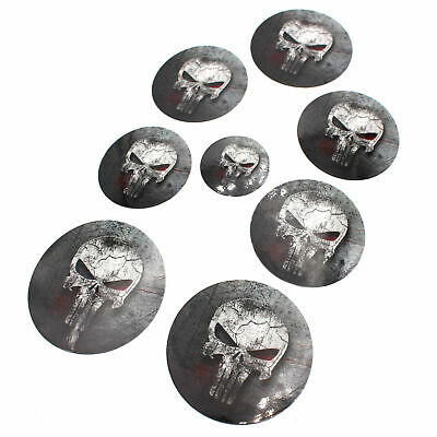 Skull #2 Logo Emblem Foils Set BMW E38 E66 E31 E83 E53 E39 E36 M PACKAGE M