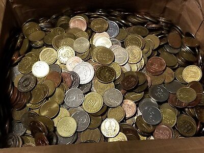 5 Pound Token Lot - Arcade, Amusement, Parking, Carwash, Casino, Etc