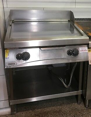 Zanussi Commercial Gas Grill Plate on Stand