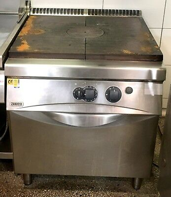 Zanussi model NTFG800 200231 Commercial Freestanding Solid Top Gas Oven