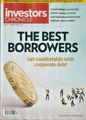 INVESTORS CHRONICLE MAGAZINE #1474 ~ 27th JULY - 2nd AUGUST 2018 ~ N EW ~