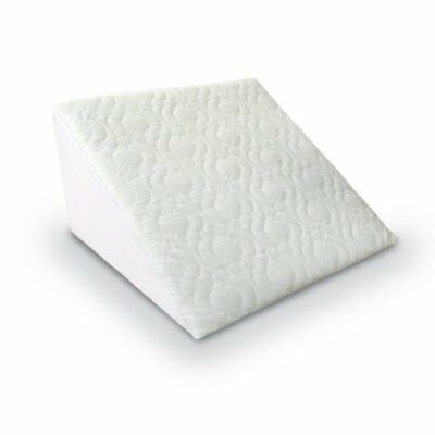 "Bed Wedge Acid Reflex Pillow with Removable Quilted Cover,Dimensions:20""x18""x11"