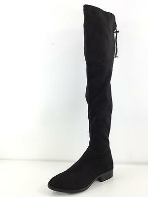 01f94956ad3 613 NEW Sam Edelman Paloma Black Suede Over The Knee Boots Women s Size 7.5  M