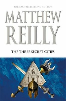 NEW The Three Secret Cities By Matthew Reilly Hardcover Free Shipping