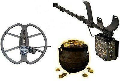 "Detech Relic Striker Professional Metal & Gold Detector with 13"" Ultimate coil"
