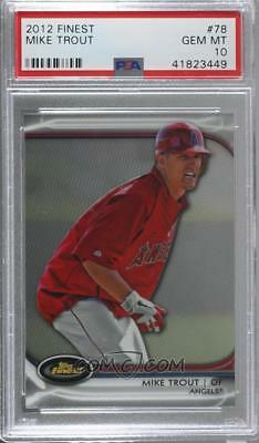 Mike Trout lot of 196 PSA Graded cards - RC, SP, Inserts, true 1/1 PSA 10th Rank