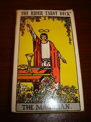 1971 Rider-Waite Tarot Deck Complete 78 Card Deck Switzerland US Games