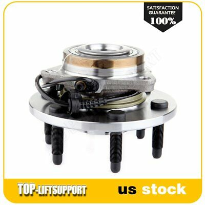 Left or Right Front Wheel Hub Bearing For 07-13 Cadillac Chevy GMC 4WD 6 Lug