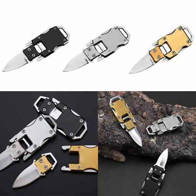 Outdoor Mini EDC-Folding-Knife-Keychain-Survival-Tool-Camping-Hunting