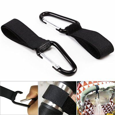 2 pcs/lot Universal Mummy Buggy Clip Pram Pushchair Stroller Hook Shopping Bag